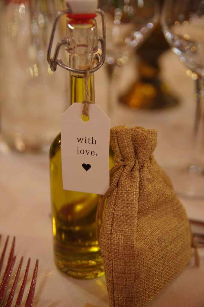 Cadeaux invités - Huile d'olive et savon