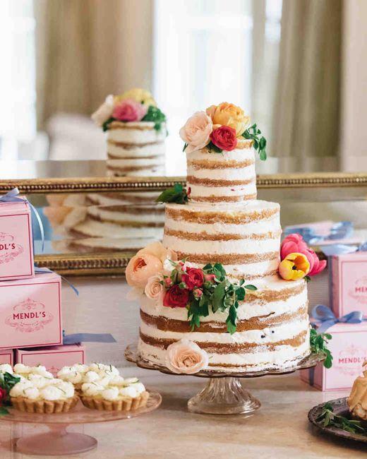 Naked cake: quel parfum? - Banquets - Forum Mariages.net