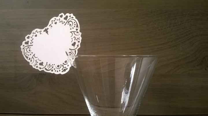 Marque place table Blanche-Neige