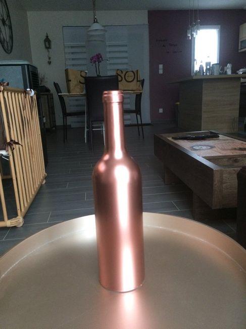 Help : peinture doré sur bouteille ?! - 2
