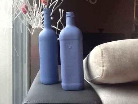 Essai décoration bouteille