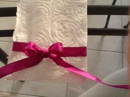 Idée pour rond de serviette