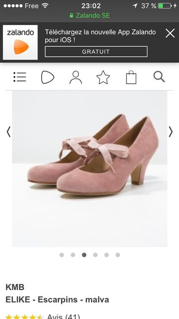 f28606fdad70 Chaussures rose poudré  des avis  - Mode nuptiale - Forum Mariages.net