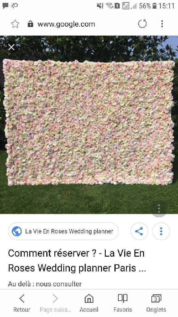 Mur floral - 1