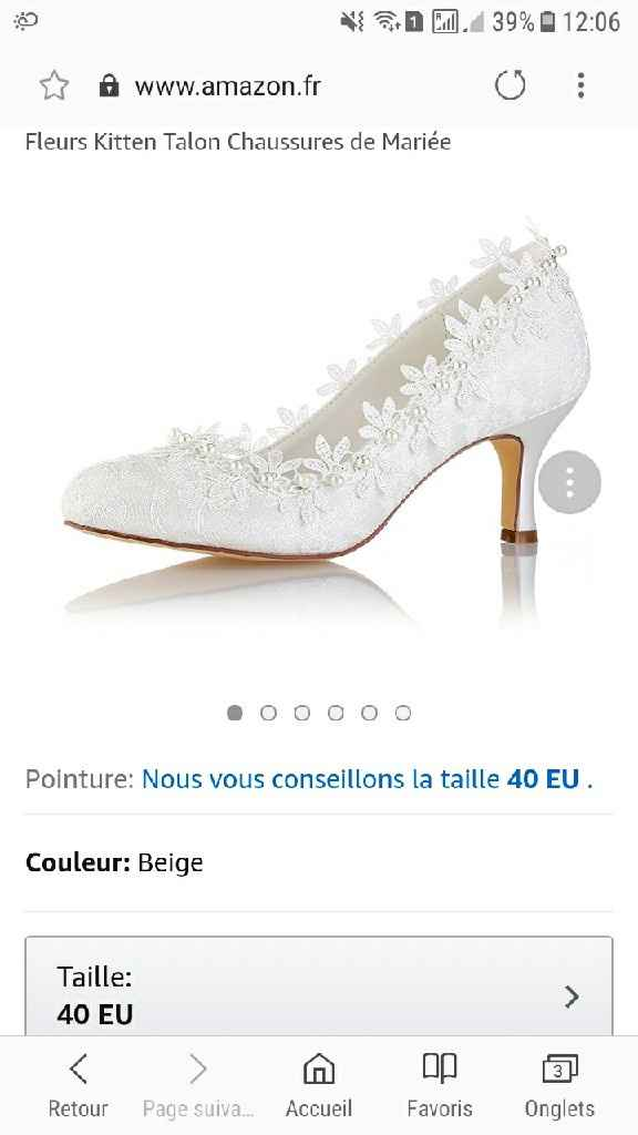 Chaussures - 1