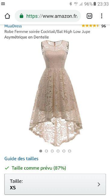 ef039466a40 Robe de demoiselle d honneur ado - Mode nuptiale - Forum Mariages.net