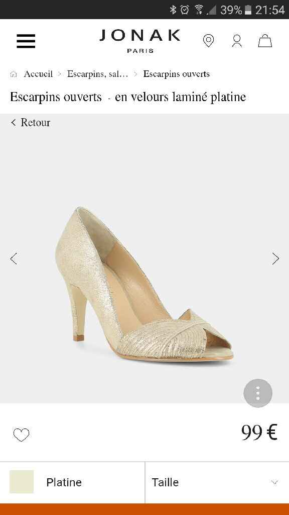 panique chaussures - 1