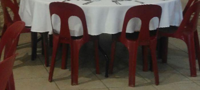 Chaises Rouge Bordeaux Décoration Forum Mariagesnet