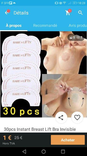 Contraintes pour mon soutien-gorge : sans bretelles + robe dos nu !!! la galère !! - 1
