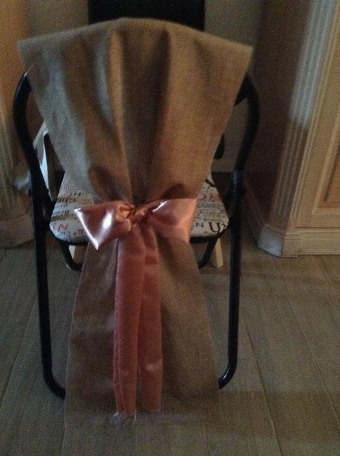 Housse de chaise : avec ou sans noeud ? 1