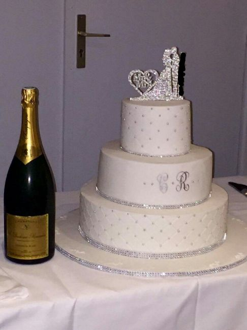 Inspiration....les wedding cake gris! - 1