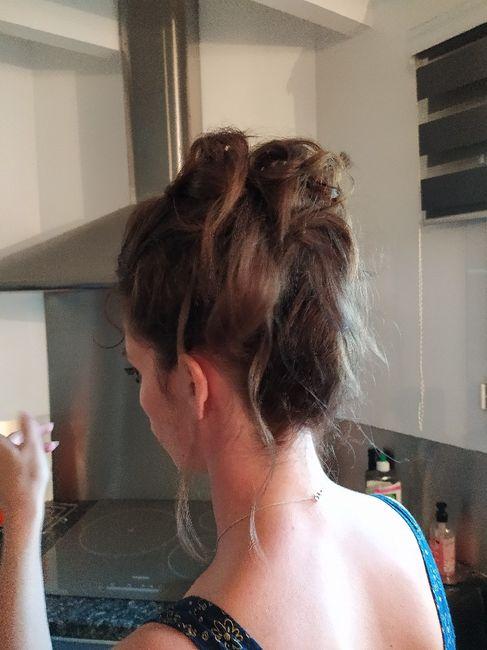Essai coiffure décevant à 1 semaine du mariage - 2
