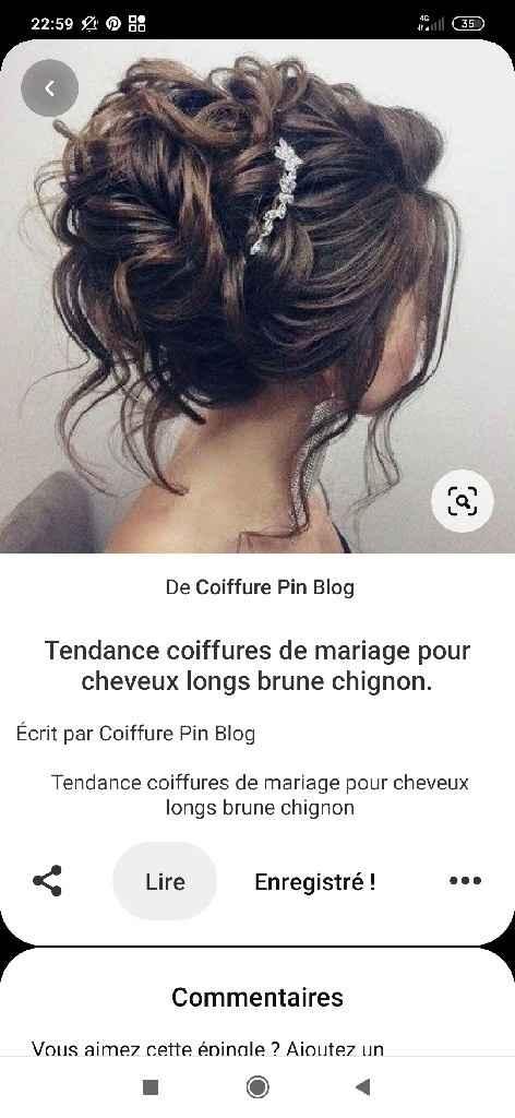 Essai coiffure décevant à 1 semaine du mariage - 1