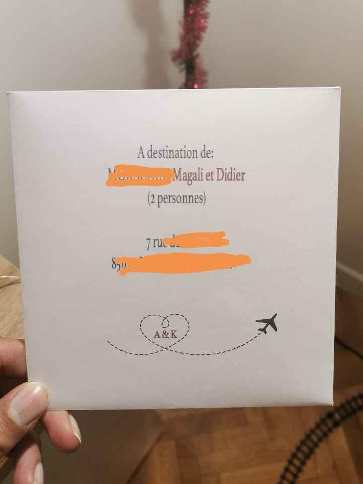 Noms enveloppes faire-part - 2