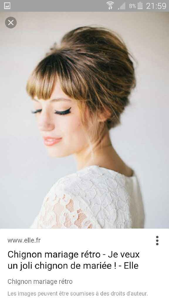 1er essai maquillage et coiffure.  Besoin de vos avis sincères svp - 4