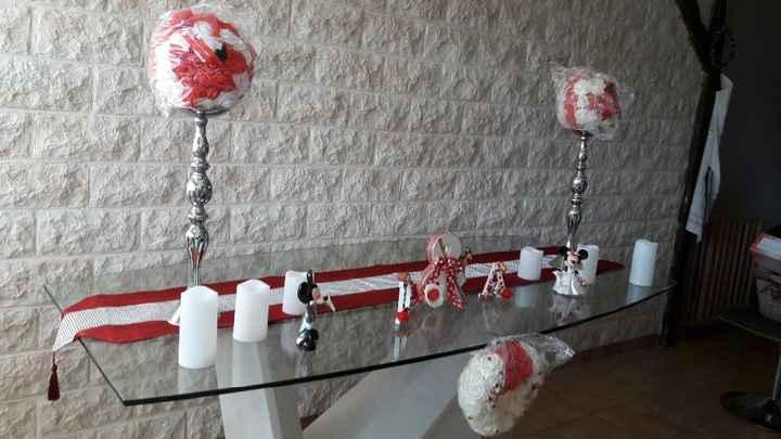 La table des mariés