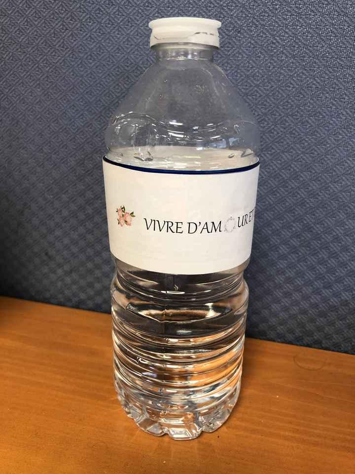 éTiquettes bouteille d'eau wb - 1