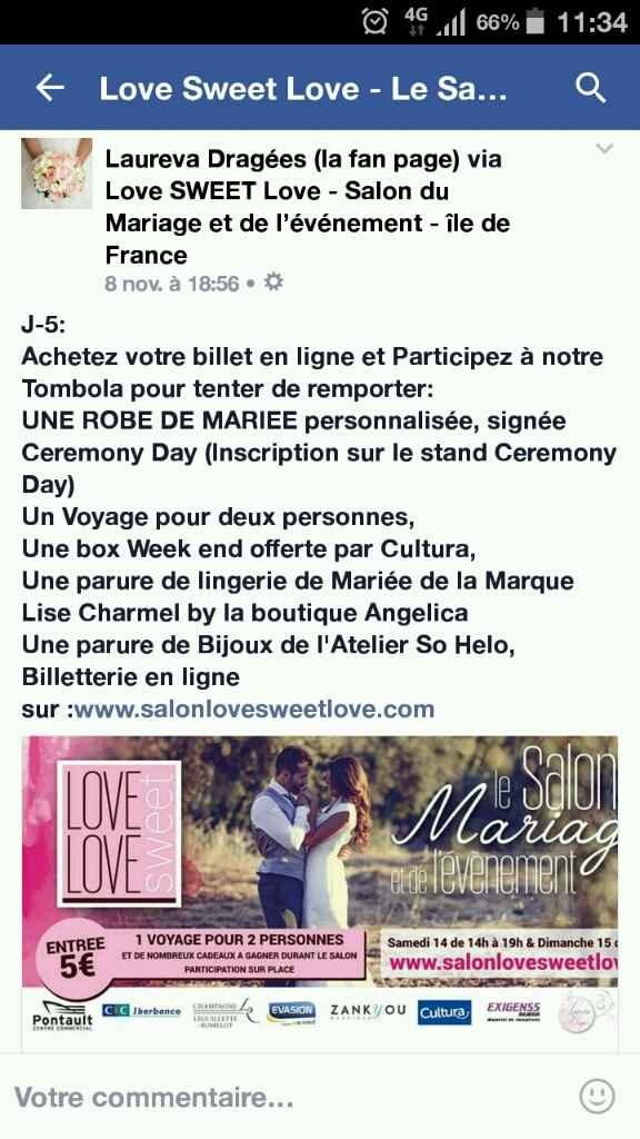 (77) salon love sweet love week end du 14 novembre by laureva dragées - 1
