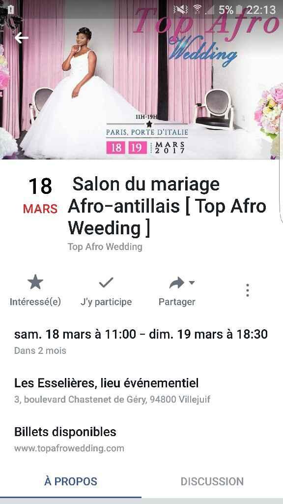 Salon du mariage afro'antillais - 1