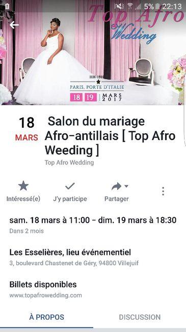 Salon du mariage afro 39 antillais organisation du mariage for Salon afro antillais paris