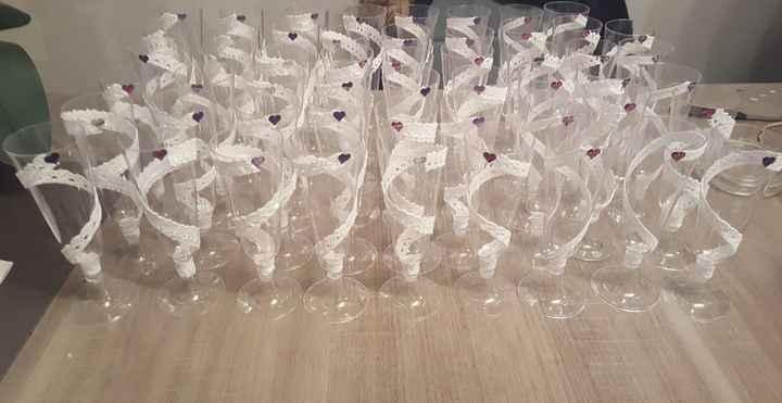customisation flutes à champagne