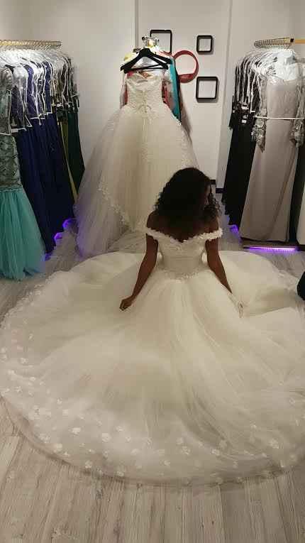 Ma robe de princesse