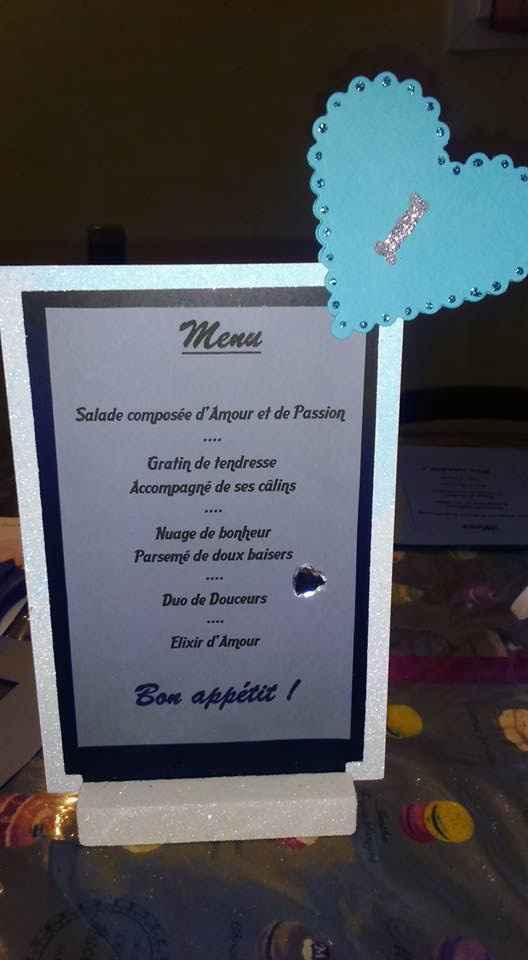 Nos menus