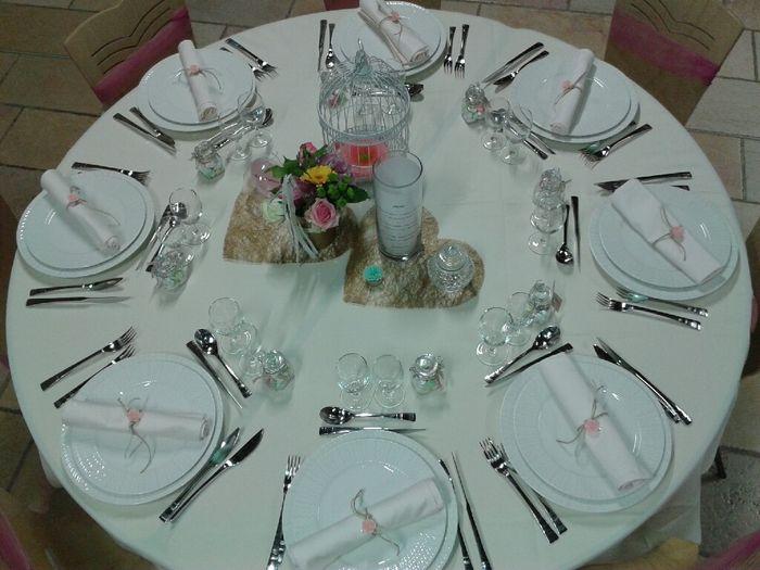 Table / couverts/ assiettes - 3