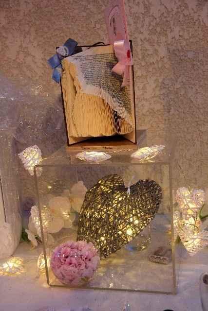 Table urne + livre d'or déco