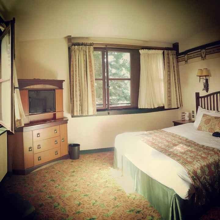 Notre chambre au Sequoia Lodge