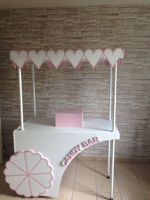 fabrication chariot candy bar d coration forum. Black Bedroom Furniture Sets. Home Design Ideas
