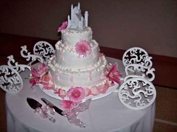 Le duel des wedding cake : thème princesse - 1