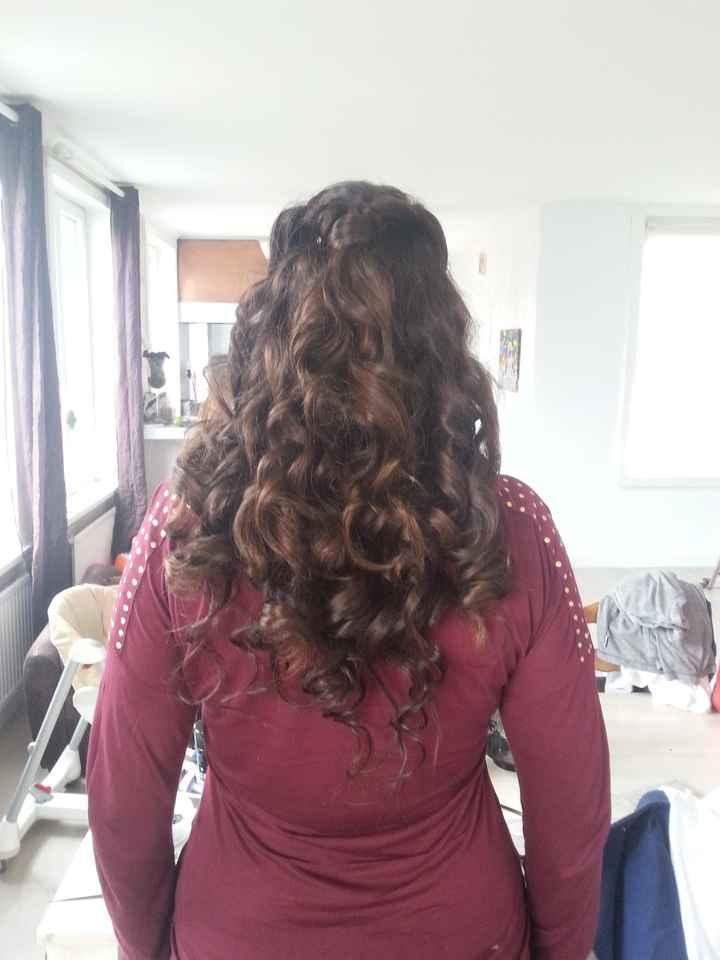 Mon 2eme essai coiffure - 5