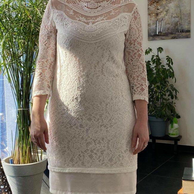 Robe mariage civil hiver 1