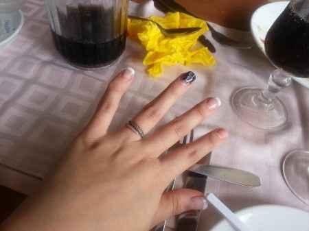 ongles de mon mariage