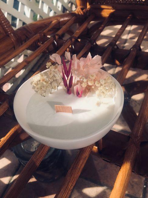 Bougies fleuries 2