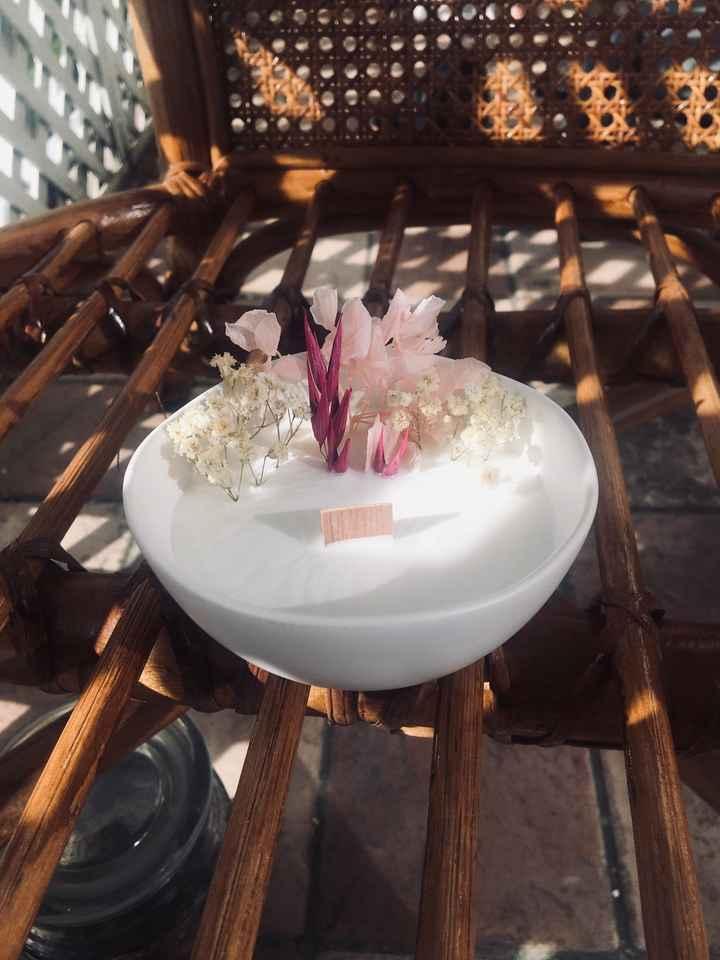 Bougies fleuries - 1