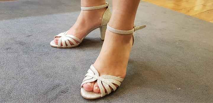 Chaussures argentées - 1