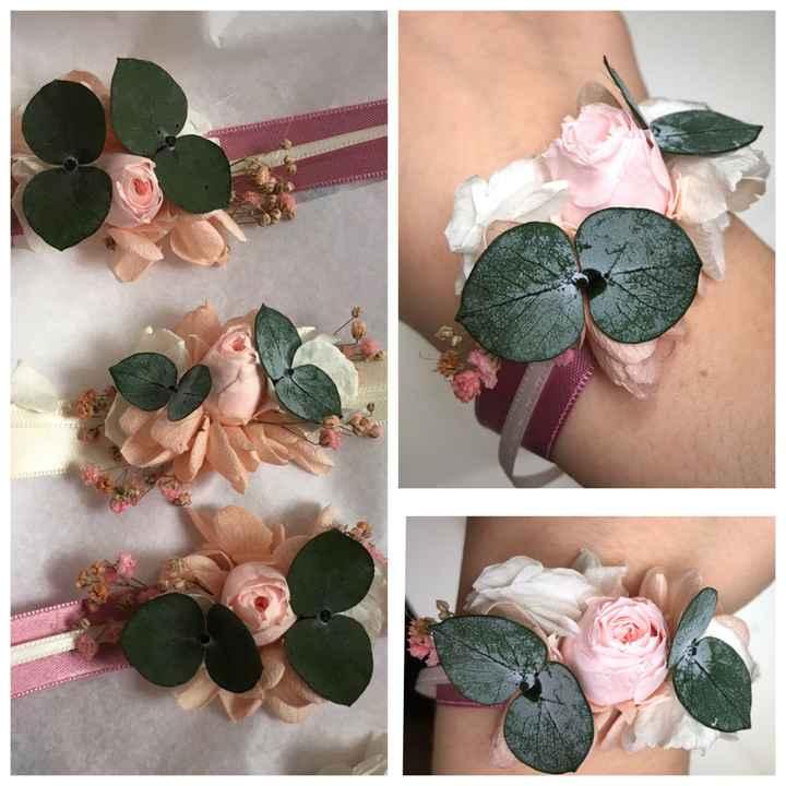 Bracelets fleurs séchées 🥰 - 1