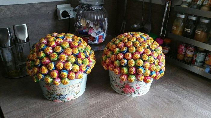 Diy du week-end : mes arbres à sucette pour candy bar - 1