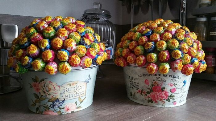 Diy du week-end : mes arbres à sucette pour candy bar - 2