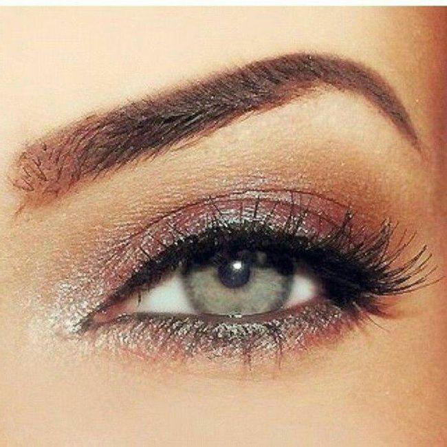Avis maquillage yeux verts 1
