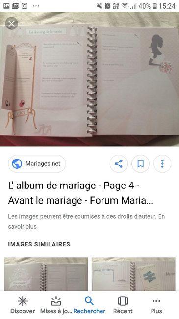 Classeur mariage - 2