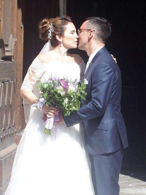 Je suis mariée 😉😉 ça y est Mme. 2