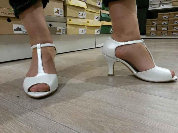 Chaussures trouvées au dernier moment! - 2