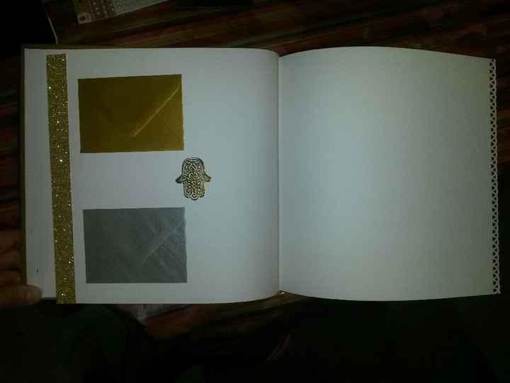 Début de mon livre d'or à enveloppes - 1