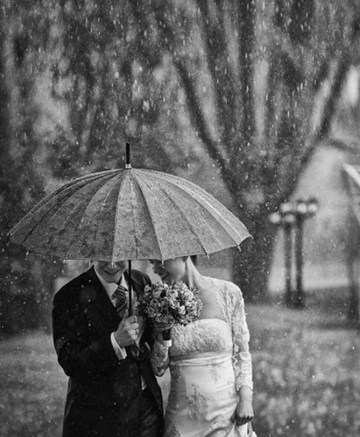 Mariage pluvieux mariage.... ☔️ 😁 - 2