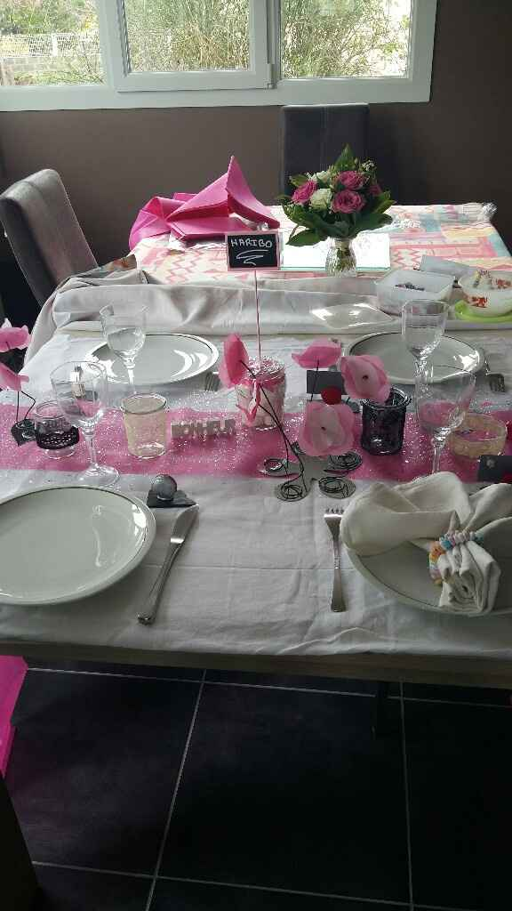 Essai décoration de table - 1