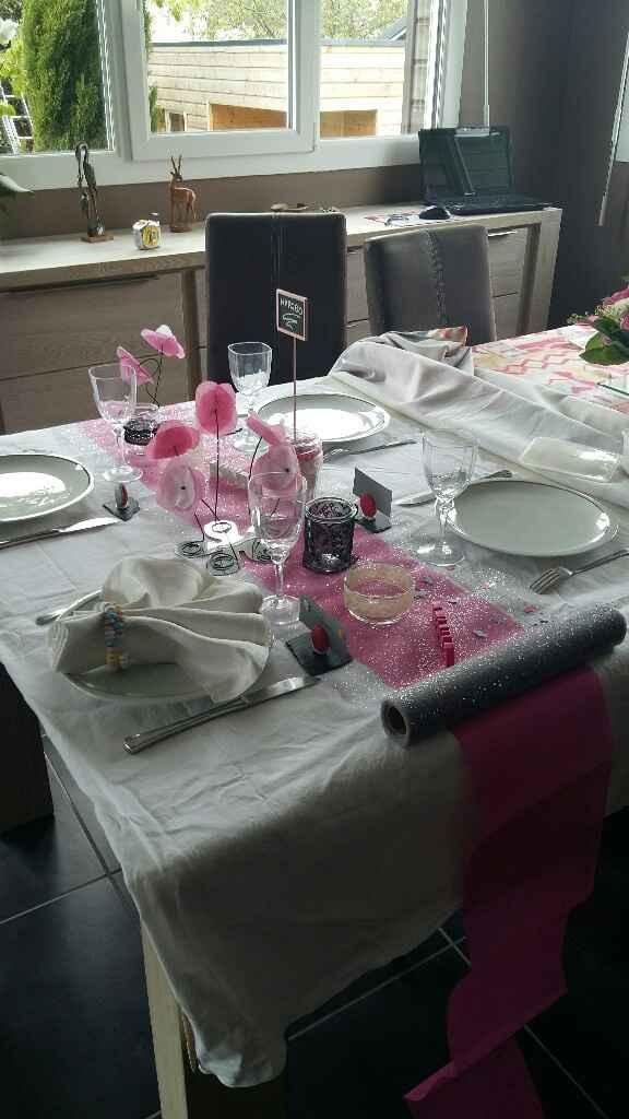 Essai décoration de table - 2