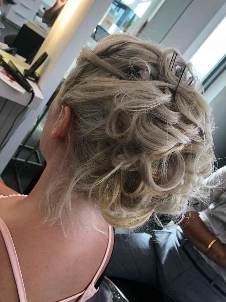 Dernier essai coiffure - 1